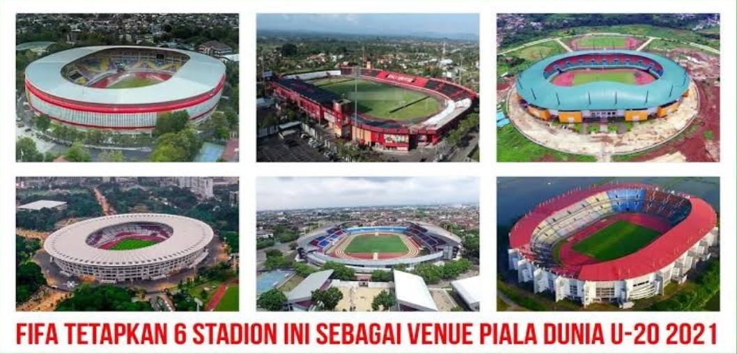 6 Stadion Calon Venue Piala Dunia U-20 di Indonesia
