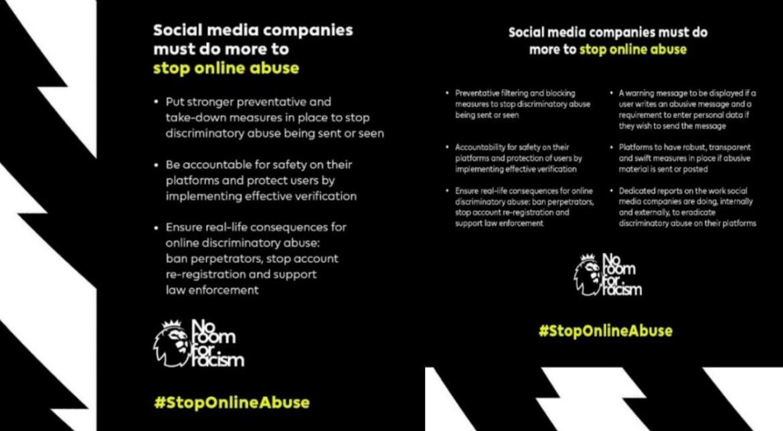 Sepak Bola Inggris Boikot Media Sosial